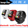 1,44 Inch TFT LCD 128 * 128 Display Pedometer Bluetooth U8 Smart Watch para cuidados de saúde