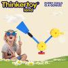 Plastique reliant le jouet animal en plastique coloré pour des enfants