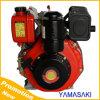 Motor diesel directo refrescado aire de Inkection de la vertical de Tc178f