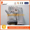 Голубые перчатки безопасности Split кожи коровы перчатки заварки (DLW611)