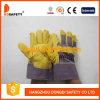 Geel pvc Gloves met Stripe Back (DGP101)