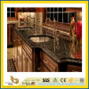 Stone naturale Polished Absolute Black Granite Countertop per Kitchen/Bathroom (YQC)