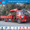 Förderwagen mit Crane 180HP 4X2 Truck, 8ton Cargo Crane Truck