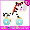 2015 Pull en bois String Toy pour Baby, Hot Sale Wooden Pull String Toy, Educational Wooden Pull String Toy W05b127