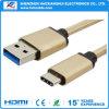 Type chaud C des ventes USB aux caractéristiques d'USB 3.0/au câble de remplissage
