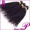 De rejet et d'embrouillement cheveux crépus de courbure de Brazillian de Vierge non-traitée librement