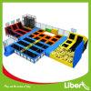 Disegno rettangolare dell'interno del parco della base del trampolino dei bambini poco costosi