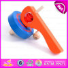Heißes Sale Item Interesting Wooden Small Gyro/Top/Spinning Top/Peg-Top Toys für Kids W01b017