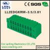 Pluggable разъем PCB терминальных блоков Ll2edgkrm-3.5/3.81