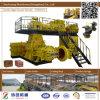 Верхний завод кирпича глины качества Jy75dii твердый