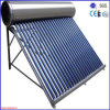 Tankの真空管のSolar Hot Water Heating