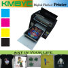 Impresora de alta velocidad de la camiseta, impresora colorida de la camiseta