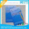 Carte de l'IDENTIFICATION RF Cr80, carte des affaires IC de Smart Card, carte d'identification