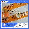 Cinta adhesiva de la etiqueta engomada de la seguridad