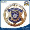 La polizia su ordinazione del metallo del ricordo conia il regalo di promozione