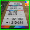 UVFlatbed Printing Sign Board auf Acrylic Board