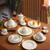 본 차이나 Dinner Sets Porcelain Bowls Plates와 Spoons
