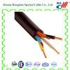 Cable électrique de 3 noyaux avec tension d'isolation de PVC/XLPE la basse