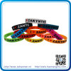 Full su ordinazione Colors Silicon Bracelet per Party