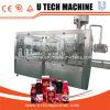 Máquina de rellenar líquida/máquina de rellenar del jugo