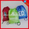 дешевый выдвиженческий мешок Backpack Drawstring 210d