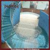 Los peldaños de cristal de lujo escalera de acero (DMS-3031b)