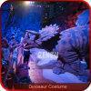 Passeio robótico com o traje realístico do dinossauro da BBC