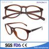 Gafas redondas bordeadas claxon de gran tamaño grande de los vidrios del ojo del marco de la lente clara