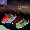 Новый тип цветастое Yeezy переменчивые ботинки света СИД Yeezy Flykint цвета