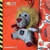 Cintre r3fléchissant mignon de peluche de lion