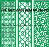 Lamiera sottile della gomma piuma del PVC dell'incisione