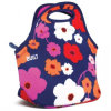 Hete Verkopende Bloem Zippered Dame Lunch Bag Neoprene