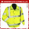 Rivestimento riflettente di sicurezza del Mens del Workwear di inverno (ELTSJI-8)