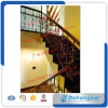 Pasamano galvanizado de alta calidad de la escalera del hierro labrado/pasamano de la escalera del acero inoxidable/barandilla de Srair