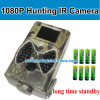 1080P Digial Trail Camera met 34 Infrared LED