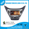 Android 2 DIN Car DVD para Hyundai Elantra III 2012 com Built-in GPS, Dual Zone, Painel Digital, RDS, Volante (TID-I092)
