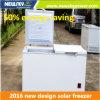 Surgélateur économiseur d'énergie d'énergie solaire de 50%