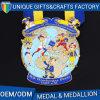 Tipi differenti medaglia di abitudine del metallo del premio di sport