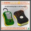 Draadloze Draagbare LEIDENE 24+4PCS Werkende Lamp