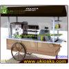 4 Wheels (F20094)를 가진 전기 Mobile Food/Hot Dog Cart
