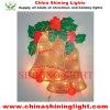 Света рождества украшения СИД праздника колокола кольца