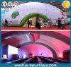 De verblindende Reuze Opblaasbare Tent van de Tentoonstelling van Inflatae van de Tent van de Koepel met LEIDEN Licht voor Gebeurtenis
