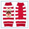 Produit pour animaux de compagnie Christmas Elkteddy Striped Sweater Vêtements pour chiens