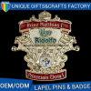 изготовленный на заказ Pin Lalpel металла логоса 3D для сувенира