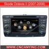 GPS, Bluetooth를 가진 Skoda Octavia II (2007-2009년)를 위한 특별한 Car DVD Player. A8 Chipset Dual Core 1080P V-20 Disc WiFi 3G 인터넷 (CY-C005로)