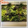 광저우 공급자 장식적인 인공적인 녹색 잔디 벽