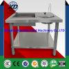 Manuelle einwickelnpuder-Tisch-Puder-Beschichtung-Maschine