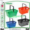 Choisir le panier en plastique de traitement pour des achats