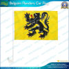 Bandierine dell'automobile di Belguim Fiandre (B-NF08F06036)