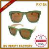 Óculos de sol de bambu & de madeira da alta qualidade Fx154